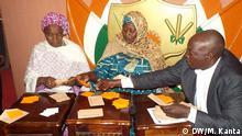 Niger Wahlen Politik Stimmen Auszählung