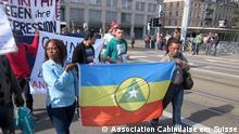 Zürich Demonstration für die Unabhängigkeit Cabindas