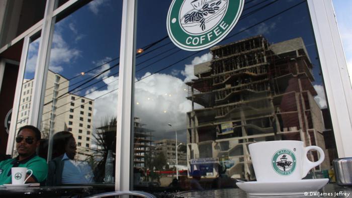 Äthiopien Addis Abeba Kaffee Wirtschaft Kaldi's Coffe