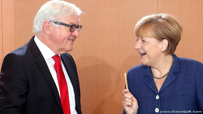 Штайнмайер и Меркель