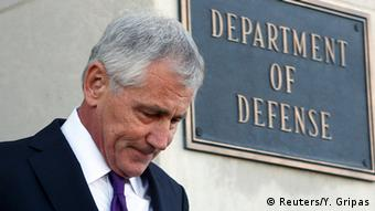 Chuck Hagel, Secretario de Defensa de Estados Unidos.