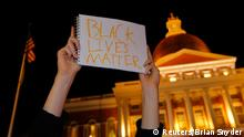 Ferguson Entscheidung Grand Jury - Protest in Boston 25.11.2014