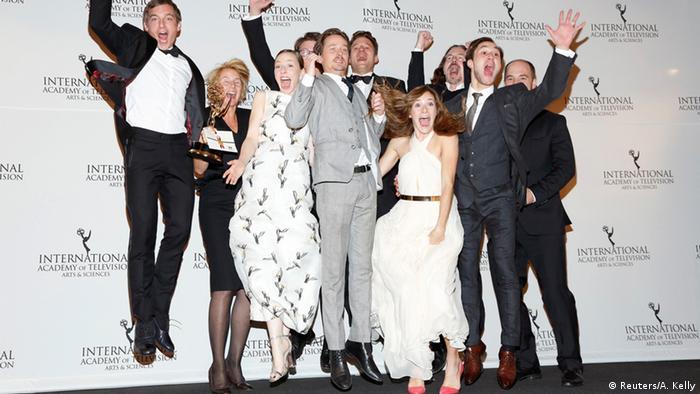 Three-part TV series Generation War wins International Emmy Award, Copyright: REUTERS/