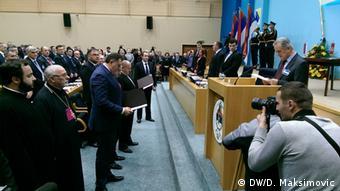 Konstituierende Sitzung des Parlaments der Republik Srpska