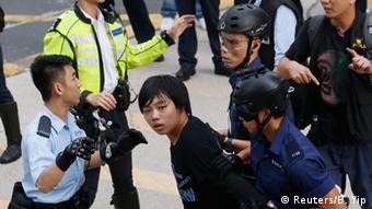 Hongkong Proteste 25.11.2014