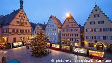 Christkindlmarkt in Rothenburg ob der Tauber