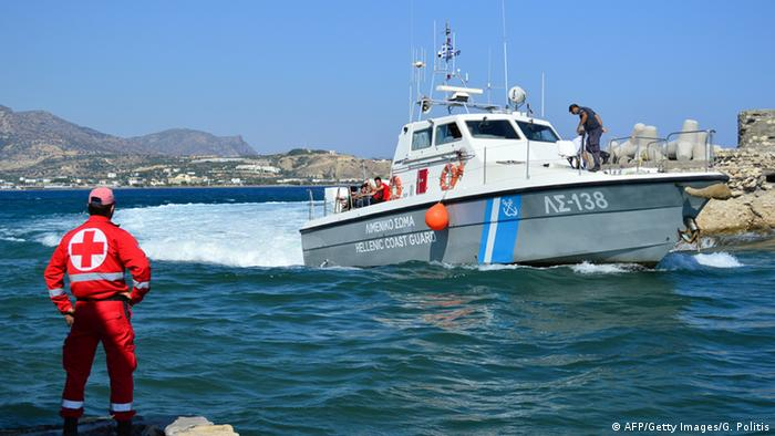 Greek coastguard vessels