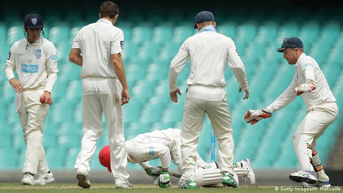 Australian cricketer Phillip Hughes dies from injuries   Sports