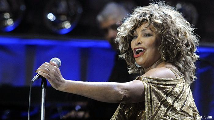 Rocksängerin - Tina Turner