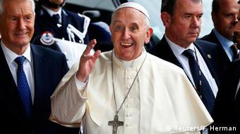 Papst Franziskus besucht Straßburg 25.11.2014 Europarat