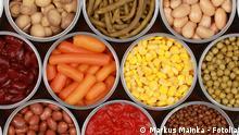 Symbolbild Lebensmittelkonservierung