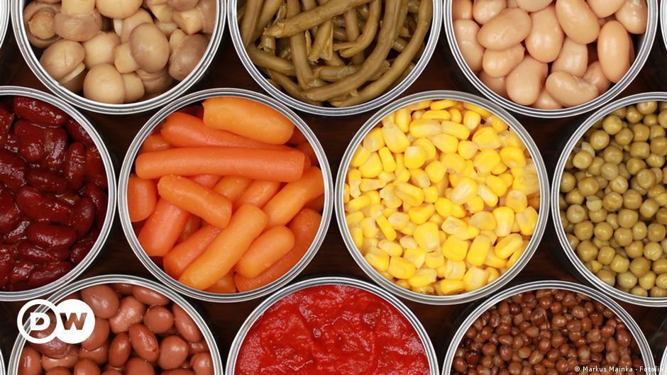 هل الطعام المعلب مفيد حقا صحة معلومات لا بد منها لصحة أفضل Dw 09 06 2020