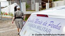 Polizeistreife Maria da Penha in Rio Grande do Sul Brasilien