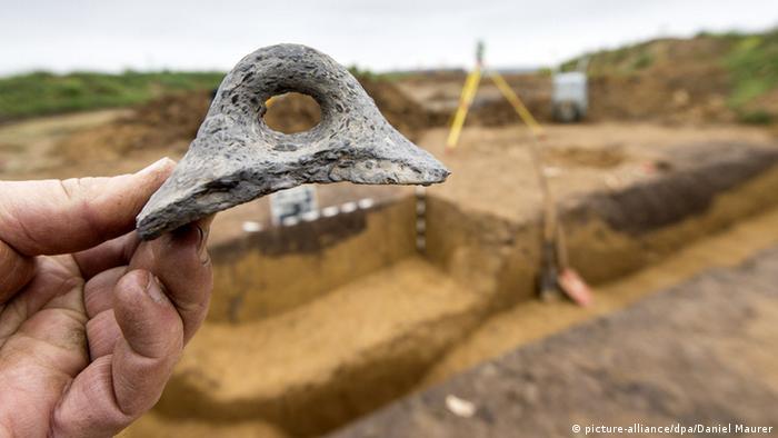 Раскопки поселения эпохи неолита в Германии