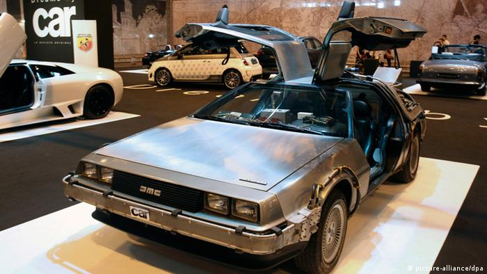 DeLorean im Museum (Foto: picture-alliance)