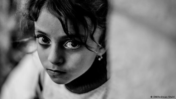 Jesiden im Nordirak Flüchtlinge Mädchen
