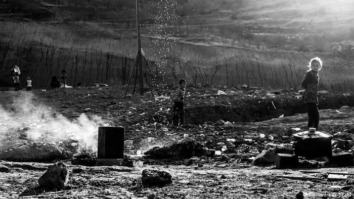 Jesiden im Nordirak Flüchtlinge Flüchtlingslager