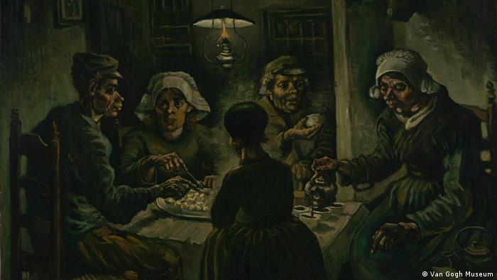 Bilder Van Gogh - Ausschnitt The Potatoe Eaters, 1885