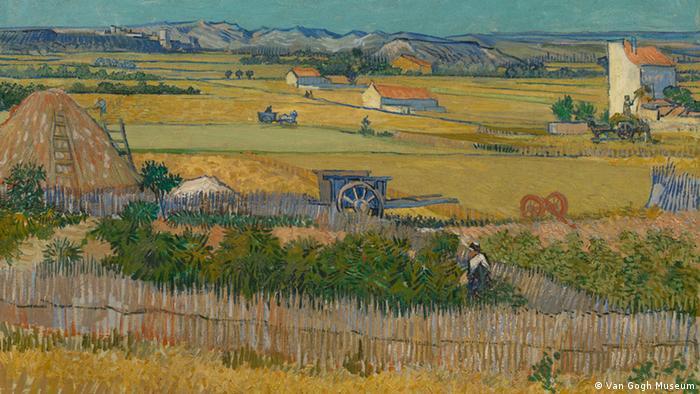 Bilder Van Gogh - Ausschnitt The Harvest, 1888