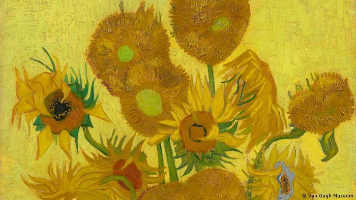 Bilder Van Gogh - Ausschnitt Sunflowers, 1889
