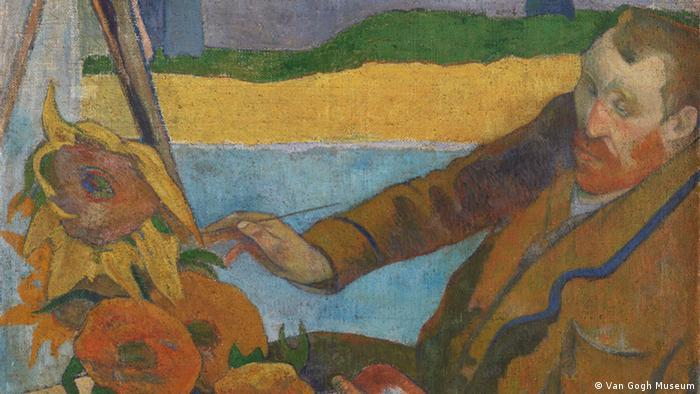 Bilder Van Gogh - Ausschnitt Vincent van Gogh Painting Sunflowers, 1888