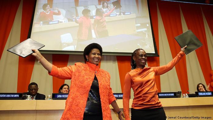 New York Orange Day Phumzile Mlambo-Ngcuka 25.11.2014