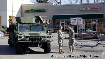 Ferguson Ausschreitungen Nationalgarde Polizei 25.11.2014