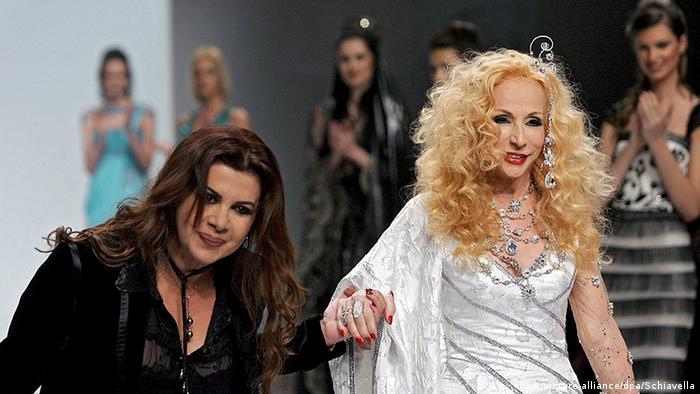 Italien Mode Alta Moda Tage in Rom Ella Zahlan