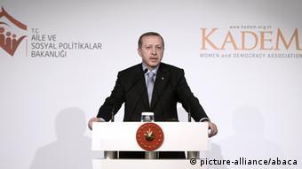 Recep Tayyip Erdogan Rede 24.11.2014 - Ungleichheit Frau und Mann