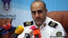 Hossein Rahimi, Befehlshaber der Sicherheitskräfte in der iranischen Provinz Sistan und Belutschistan. Schlagwörter: Hossein Rahimi, iranische Sicherheitskräfte, Sistan Belutschistan Quelle: nasimonline.ir Lizenz: frei