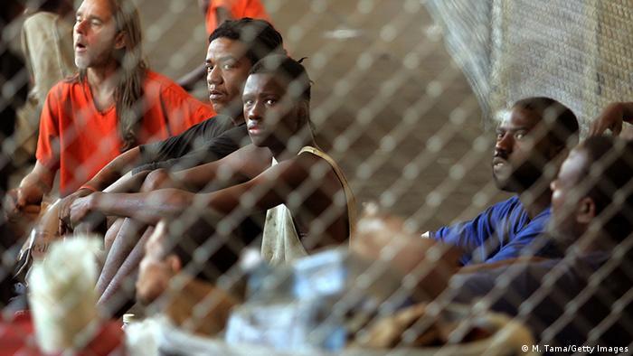 USA Gefängnis in New Orleans Überführung