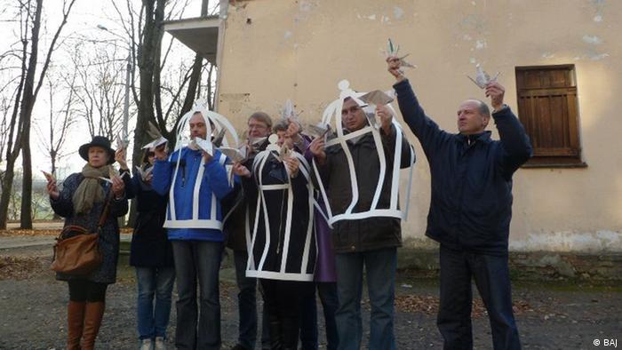 Акция протеста против преследования журналистов в Беларуси