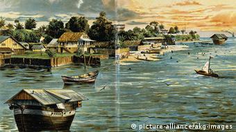 Kamerun Geschichte Deutsches Reich Stadt Duala