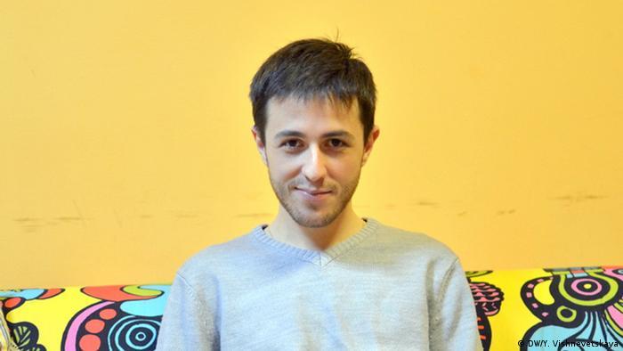 Kiril Barski aus Moskau ist selbst HIV-positiv (Foto: DW)