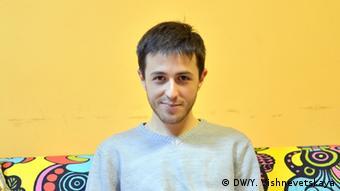 Kirill Barsky Volontär in Russland Arbeit mit HIV Patienten (DW/Y. Vishnevetskaya)