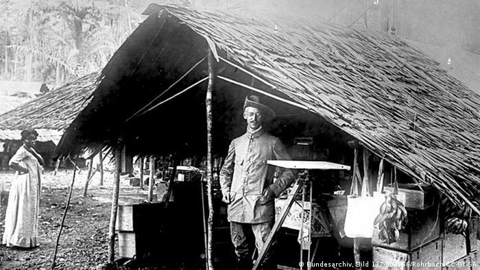 Njemački kolonijalni upravitelji u Kamerunu