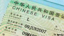 China Visum Visa