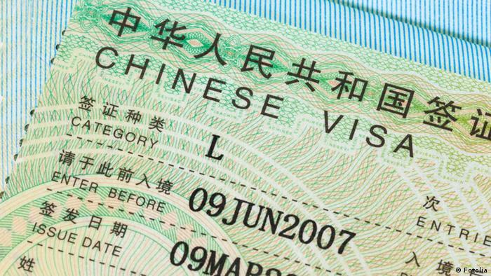 China Visum Visa (Fotolia)