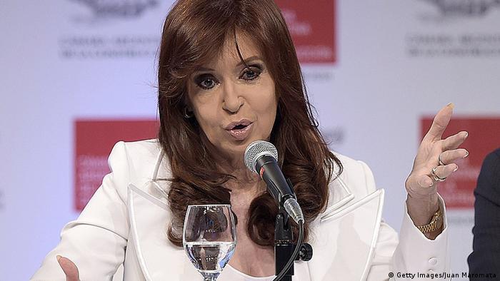 کریستینا کیرشنر، رئیسجمهور آرژانتین