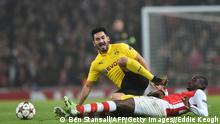 Champions League Arsenal vs Dortmund Gündogan 26.11.2014