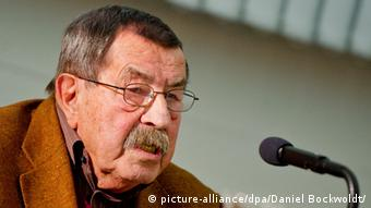 Günter Grass durante una gala de beneficencia del PEN.