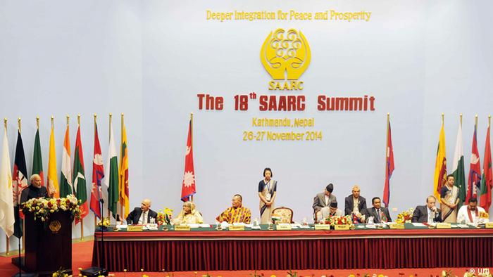 SAARC Summit in Nepal 2014 (UNI)