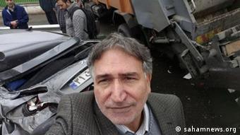 Mohammad Nouri Zad Unfall Iran