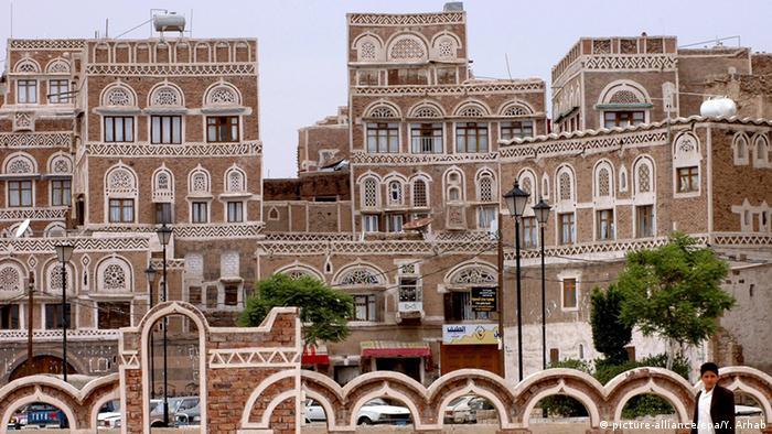 Stadt Sanaa Jemen Archiv 2007
