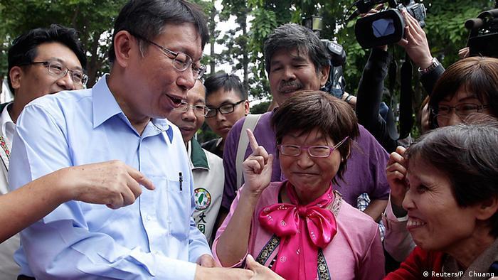 Ko Wen-je Bürgermeister Kandidat für Taipei