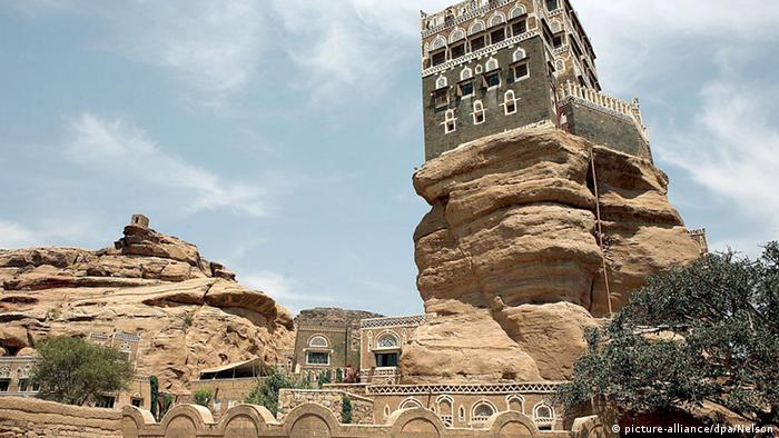 Felsenpalast im Jemen