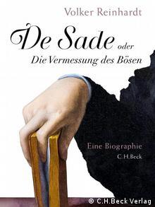Обложка биографии де Сада