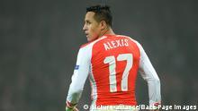 Fußballspieler - Alexis Sanchez