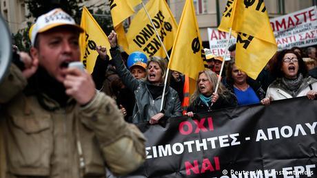 Griechenland Generalstreik 27.11.2014