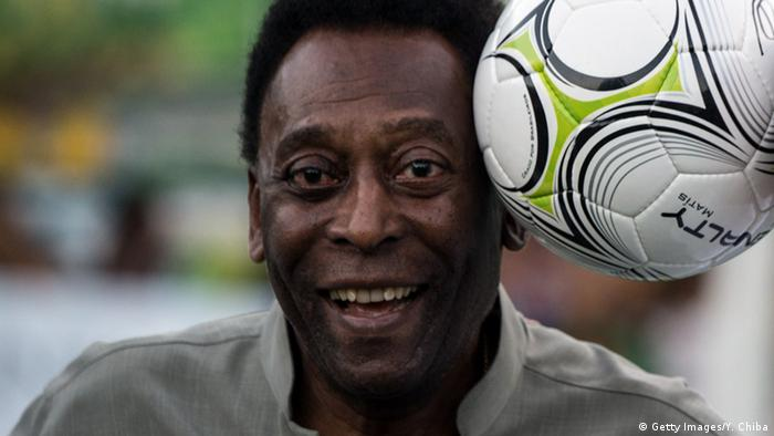 Fußball - Pele (Getty Images/Y. Chiba)
